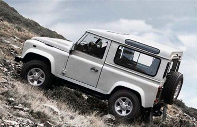 Land Rover Defender 90 - Anvelope de iarna 4x4