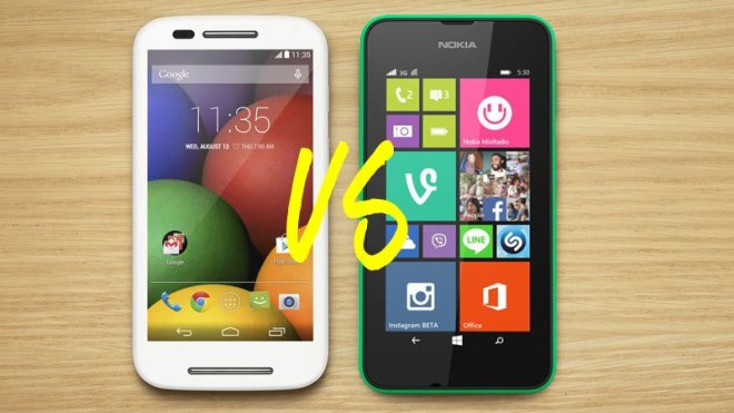 Nokia Lumia 520 vs Nokia Lumia 530