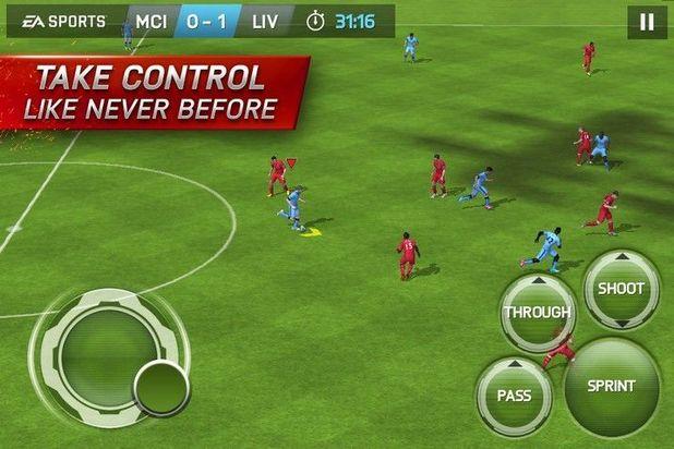 Jocuri de fotbal pentru telefoanele cu Android