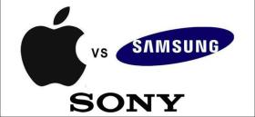 Rivalitatea dintre Apple, Samsung si Sony pe piata smartphone