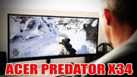 Acer Predator X34 – un monitor curbat pentru gaming