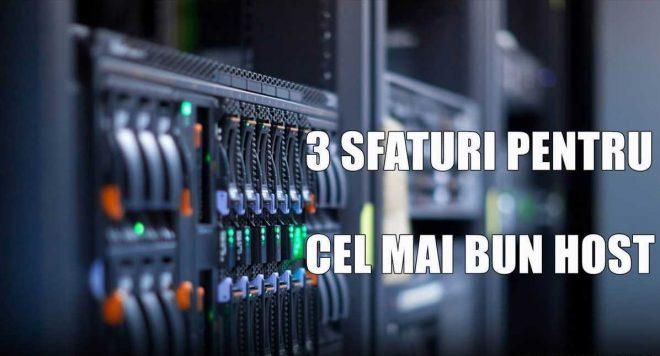Cum alegi cel mai bun hosting?