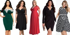 Cum isi aleg rochiile femeile plinute?