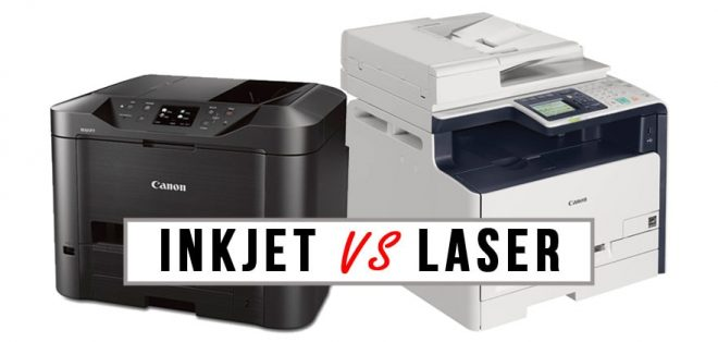 Inkjet vs Laser: Care imprimanta este potrivita pentru dvs.?